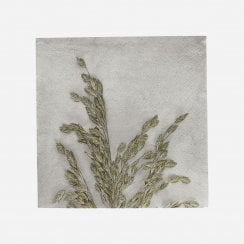 House Doctor Grass Pattern Napkins - Design 1