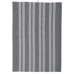 Ib Laursen Tea Towel With Black Stripes
