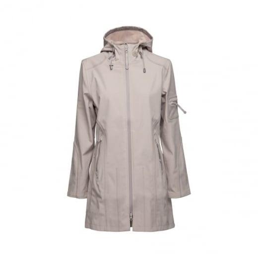 Ilse Jacobsen 3/4 Length Soft Shell Rain Coat