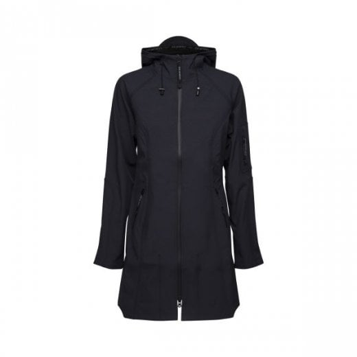 Ilse Jacobsen 3/4 Length Soft Shell Rain Coat