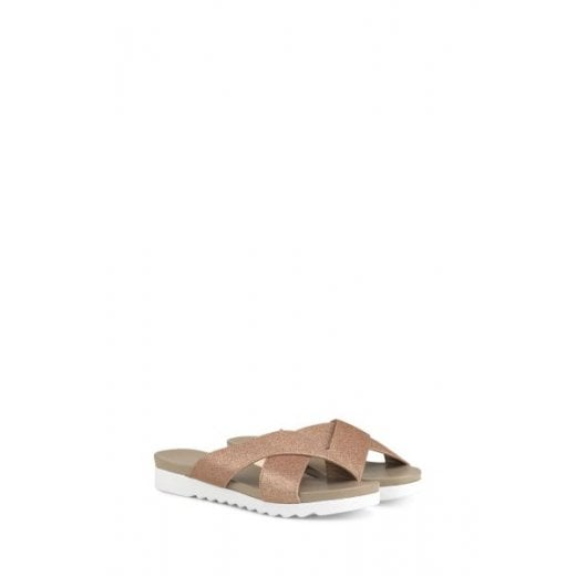 Ilse Jacobsen Chira Sandals - Metallic Rose