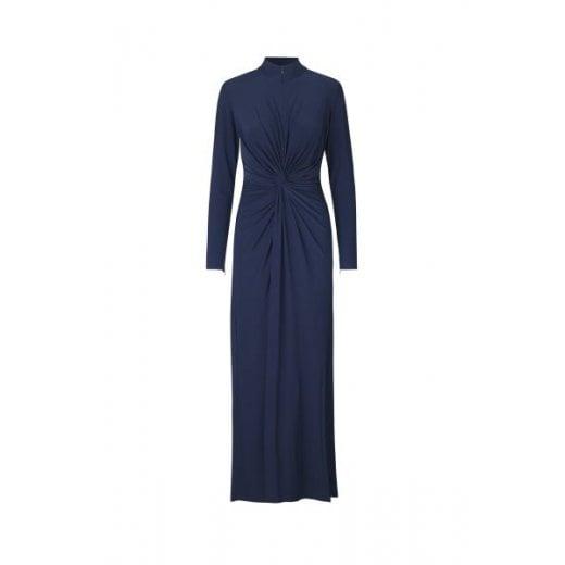 Ilse Jacobsen Dark Blue Long Dress