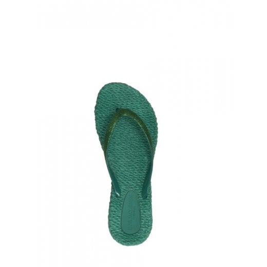 Ilse Jacobsen Glitter Flip Flop - North Green