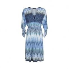Ilse Jacobsen Knee Length Dress - Blue