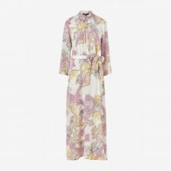 Ilse Jacobsen Maxi Dress White Floral