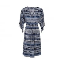 Ilse Jacobsen Midi Dress with Loose-fit Sleeves