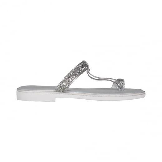 Ilse Jacobsen Poppy Sandal - Silver