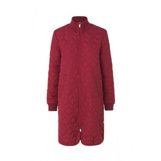 Ilse Jacobsen Rhubarb Padded Quilt Coat