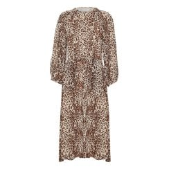 InWear Florida Dress - Brown Leo