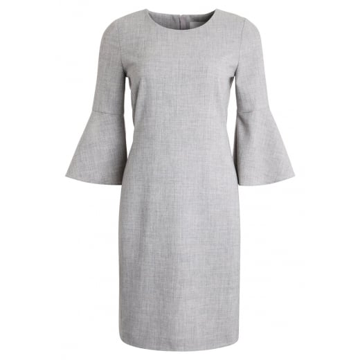 InWear Leika Dress - New Light Grey Melange
