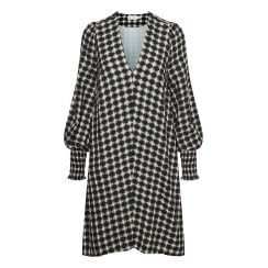 InWear Padget Dress - Black/Offwhite