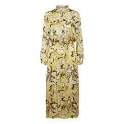 InWear Reemal Dress - Yellow Marbling