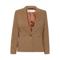 InWear Zella Blazer - Brown Graphic Sticks