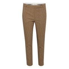 InWear Zella Pant  - Brown Graphic Sticks