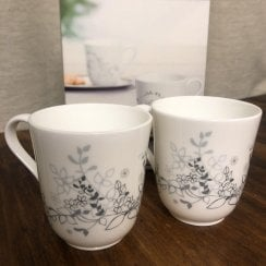 Jette Frolich Set of 2 China Mugs