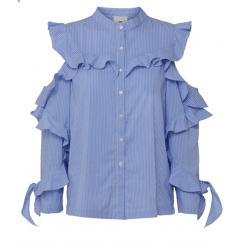 Julie Fagerholt Maiko Shirt - Blue Stripes