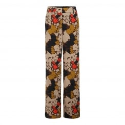 Julie Fagerholt Trouser in Camouflage Print