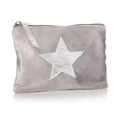 Danish Collection Grey Ta Da Star Purse