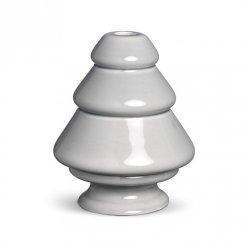 Kähler Avvento Candleholder Grey Medium