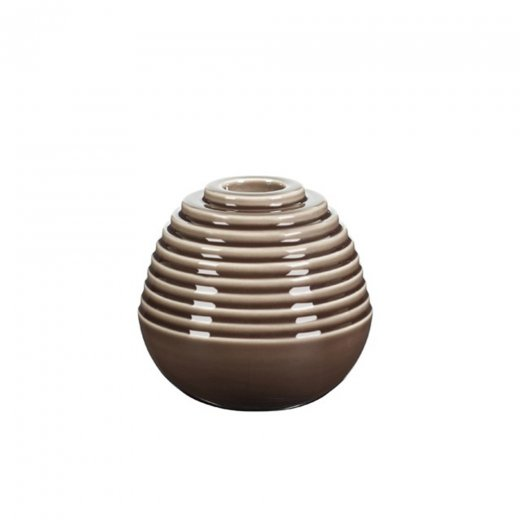 Kähler Cono Candle Holder Brown Small