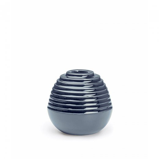 Kähler Cono Candle Holder Dust Blue Small
