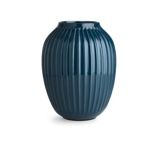 Kähler Hammershøi Vase Petrol Large