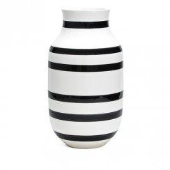 Kähler Omaggio Floor Vase Black