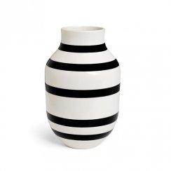 Kähler Omaggio Vase Black Large