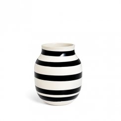Kähler Omaggio Vase Black Medium