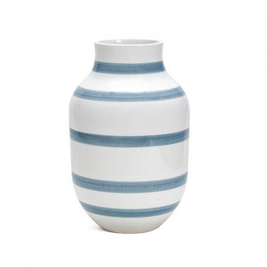 Kähler Omaggio Vase Large Blue Large
