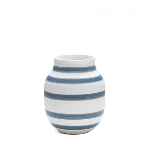 Kähler Omaggio Vase Light Blue Medium