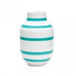 Kähler Omaggio Vase Light Green Large