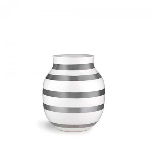 Kähler Omaggio Vase Silver Medium