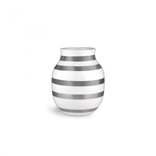Kähler Omaggio Vase Silver -  Medium