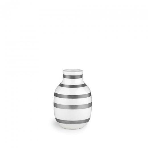 Khler Omaggio Vase Silver Small Khler From Danish Concept Stores