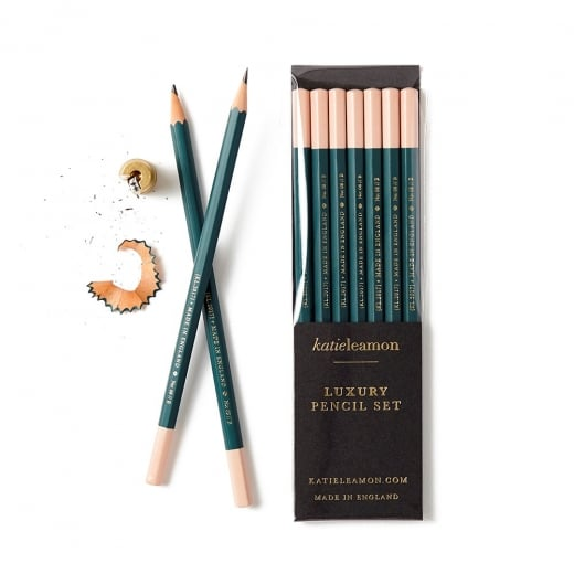 Katie Leamon Dark Green B Pencil Pack