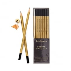 Katie Leamon Gold HB Pencil Set