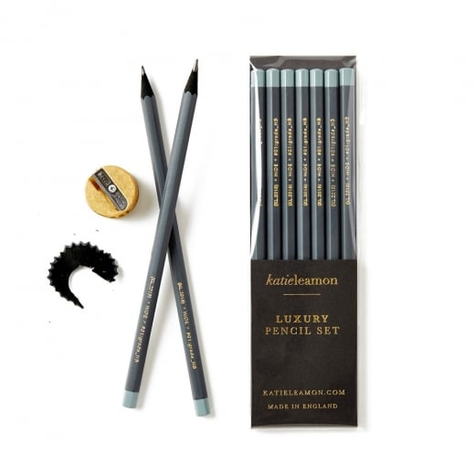 Katie Leamon HiDE Dark Grey Pencils