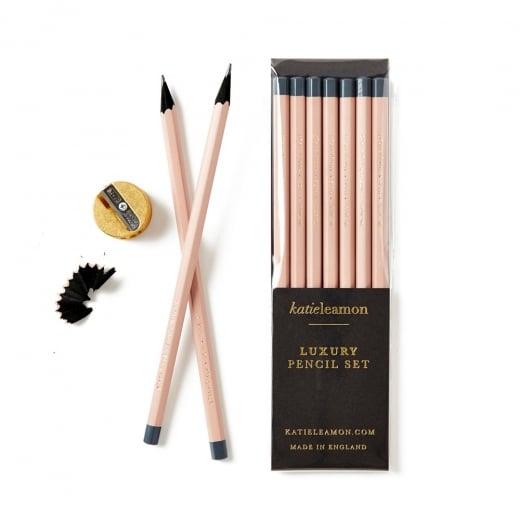 Katie Leamon HiDE Pale Pink Pencils