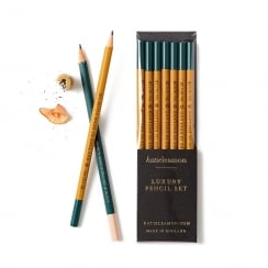 Katie Leamon Mustard 2B Pencil Set