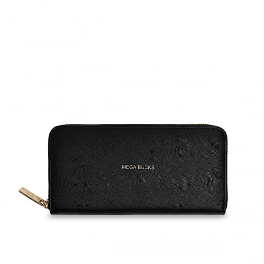 Katie Loxton Mega Bucks Pretty Purse - Black