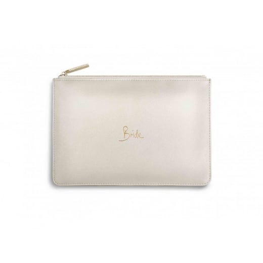 "Katie Loxton Perfect Pouch ""BRIDE"""