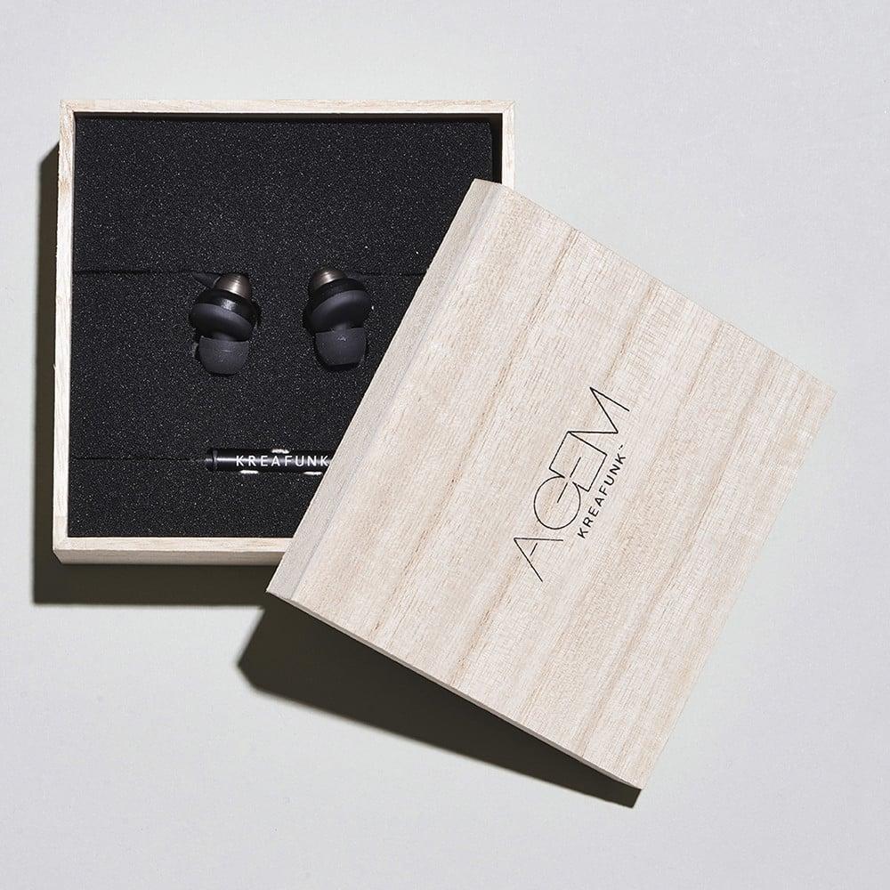 kreafunk agem earplugs kreafunk from danish concept. Black Bedroom Furniture Sets. Home Design Ideas