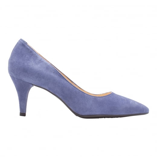 LBDK Blue Jean Suede Heels - 6cm