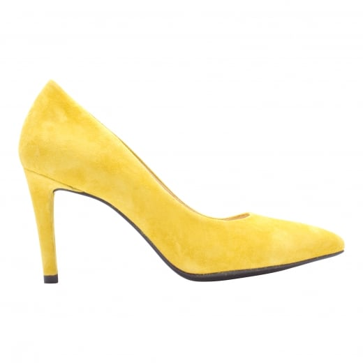 LBDK Empire Yellow Suede Heels - 7cm