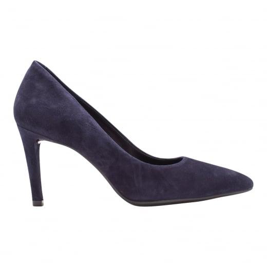 LBDK Marino Blue Suede Heels - 7cm