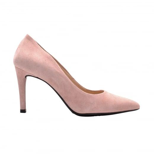 LBDK Rosa Palo Blush Suede Heels - 7cm