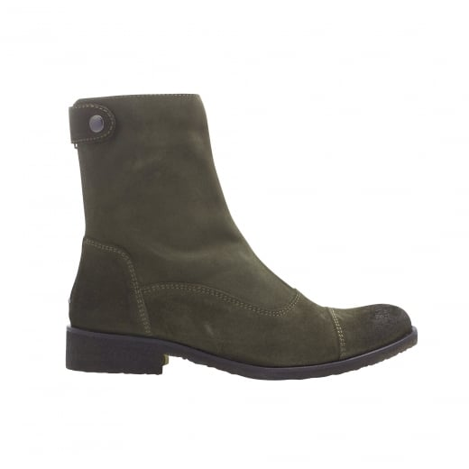 LBDK Suede Boots - Army Green