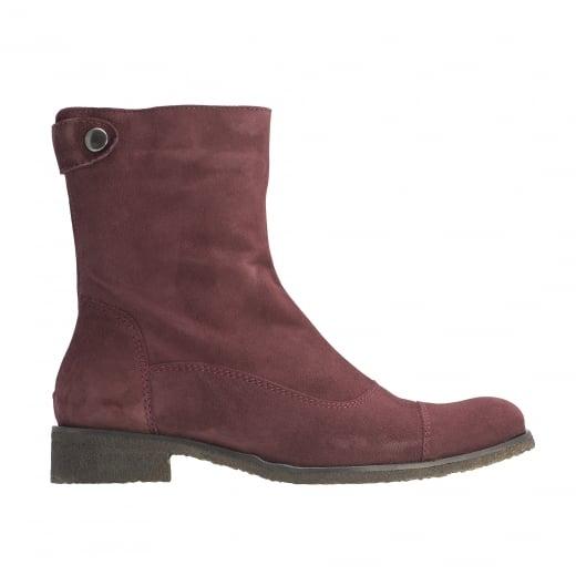 LBDK Suede Boots - Bordeaux