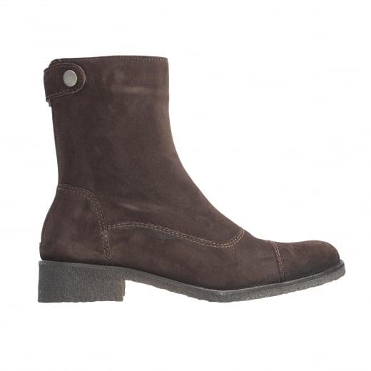 LBDK Suede Boots - Dark Brown